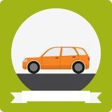 Vector car icon Stock Photos
