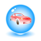 Vector car illustration Stock Image