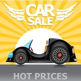Vector Car sale design template with car. Stock Photo