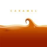 Vector caramel Stock Image