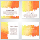 Vector card, business banner. Modern hand drawn background. Abst Royalty Free Stock Images