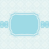 Vector card. Or invitation with room for text Stock Photography