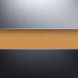 Vector cardboard paper textured background Royalty Free Stock Photography