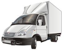 Vector cargo truck Stock Image
