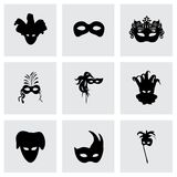 Vector carnival icons set Stock Image