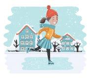 Vector carton funny illustration Stock Photos