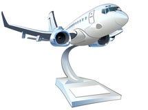 Vector Cartoon Airliner Stock Photo