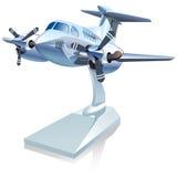 Vector Cartoon Airplane Stock Photography