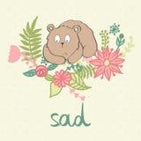 Vector cartoon bear Stock Photo