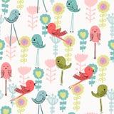 Vector cartoon bird Stock Image
