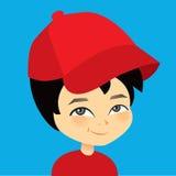Vector cartoon boy Stock Image