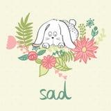 Vector cartoon bunny Stock Photos