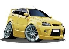 Vector cartoon car royalty free stock photos