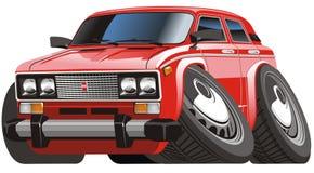 Vector cartoon car Stock Photos