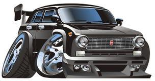 Vector cartoon car Royalty Free Stock Image