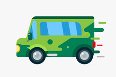 Vector cartoon car icon Royalty Free Stock Image
