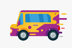 Vector cartoon car icon Royalty Free Stock Photography