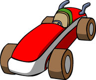 Vector cartoon car Royalty Free Stock Images