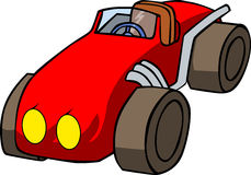 Vector cartoon car Royalty Free Stock Photography