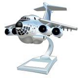 Vector Cartoon Cargo Airplane Royalty Free Stock Photo