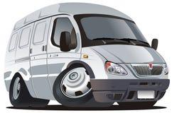 Vector cartoon delivery / cargo truck vector illustration