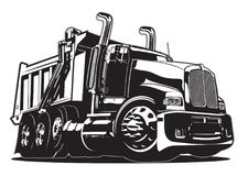 Free Vector Cartoon Dump Truck Stock Photo - 104238220