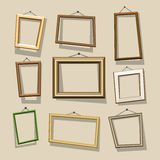 Vector cartoon frames set Royalty Free Stock Photo