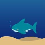Vector cartoon - Hammerhead Shark  (Sphyrnidae) Stock Photos
