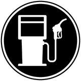 Fuel Pump Icon. A vector cartoon illustration of a gas pump icon concept Stock Photography