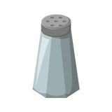 Vector cartoon isolated salt cellar Stock Photos