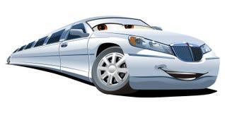 Vector cartoon limousine Royalty Free Stock Image