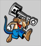 Vector cartoon mouse illustration vector illustration