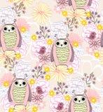 Vector cartoon owl Royalty Free Stock Photo