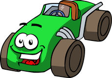 Vector cartoon smiling car Royalty Free Stock Photos