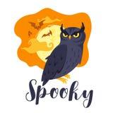 Halloween poster or design royalty free illustration
