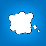 Vector Cartoon Thought Bubble Royalty Free Stock Photos