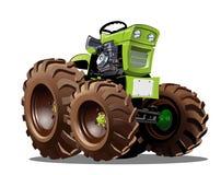 Vector Cartoon Tractor Stock Photos