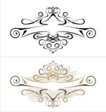 Vector Cartouche Royalty Free Stock Photo