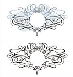 Vector Cartouche. And Banner for your text vector illustration