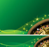 Vector  casino background and banner Royalty Free Stock Photos
