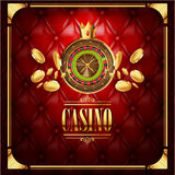 Vector casino gambling game luxury background Stock Image