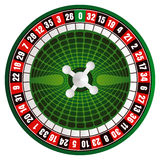 Vector casino roulette Stock Images