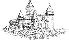 vector - The castle of Heidenreichstein Stock Images