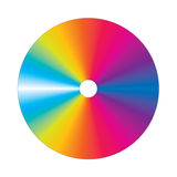 Vector Cd is colorful Royalty Free Stock Image