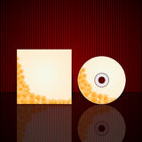 Vector Cd cover design template Royalty Free Stock Images
