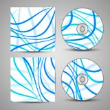 Vector cd cover set for your design Royalty Free Stock Photo