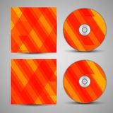 Vector cd cover set for your design. Vector cd cover  set for your design, abstract Illustration Royalty Free Stock Photo