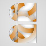 Vector cd cover set for your design Royalty Free Stock Photography