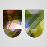 Vector cd cover  set for your design. Abstract Illustration Royalty Free Stock Photos