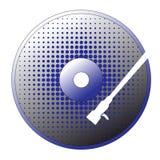 Vector cd disk Stock Photos